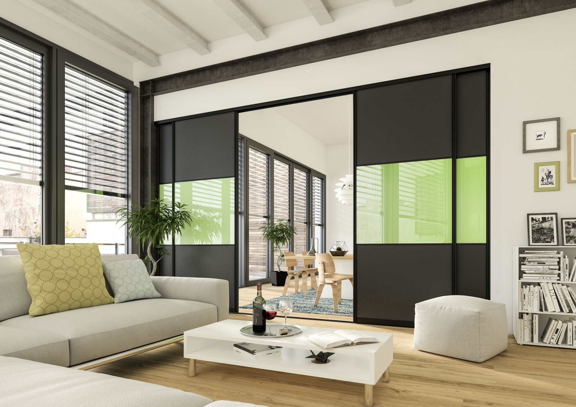 Raumteiler   Wohnzimmer/Esszimmer
