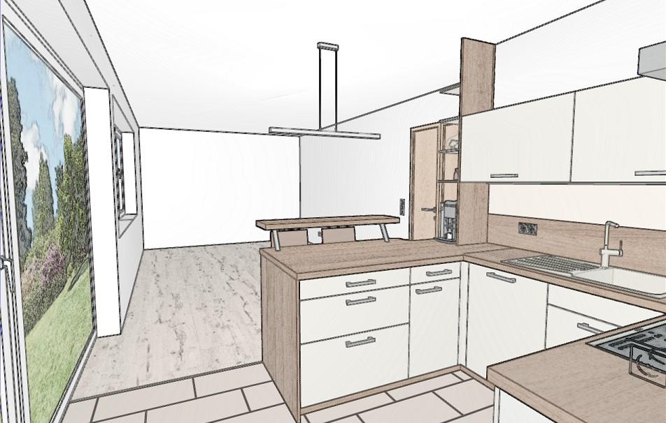 Fein Beleuchtung Platzierung In Einer Küche Bilder - Küchenschrank ...