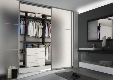 Raumteiler - Bad/Schlafzimmer