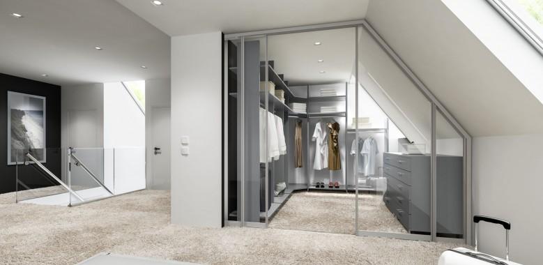 Raumteiler und begehbare Kleiderschränke - Schlafzimmer - Produkte ...