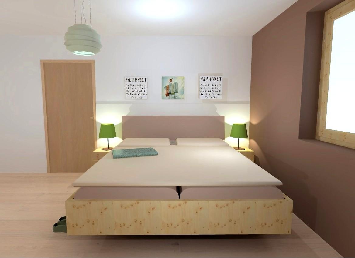Schwebendes Bett - Referenzen - handlwohnen.at
